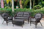 Заказать Комплект плетеной мебели 2+1+1 LV520В БЕЗ посредников!