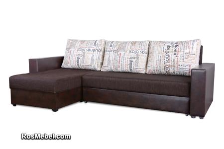 Угловой диван-кровать Атлант-А еврокнижка по фото