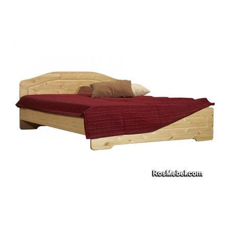 Кровать Эрика бесцветный лак