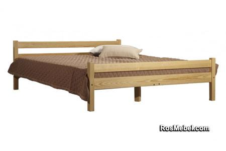 Кровать Классик бесцветный лак
