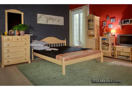 """Кровать двухспальная """"F-1""""(Фрея-1) в интерьере"""
