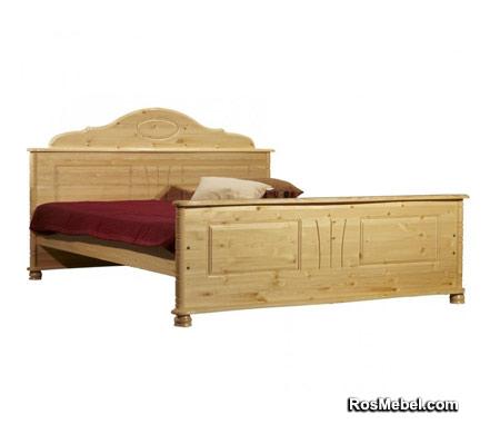 Кровать Айно бесцветный лак