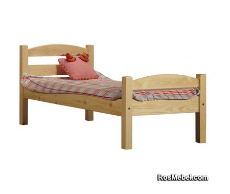 Кровать Классик детская, спинки дуга