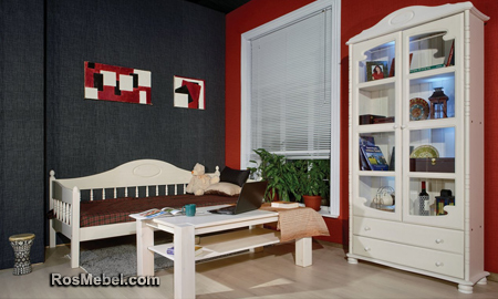 Шкаф Айно книжный 1 (Мебель АЙНО)
