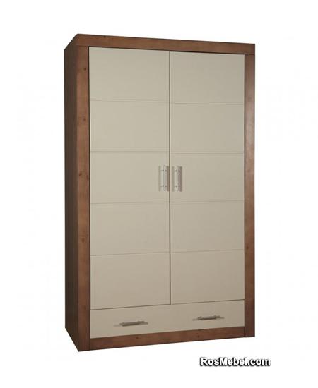 Шкаф Брамминг комбинированный (Мебель БРАММИНГ)