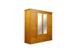 Шкаф Дания 4-створчатый (Мебель ДАНИЯ)