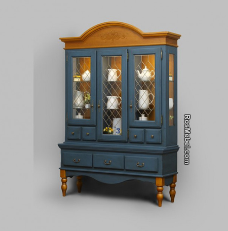Сервант Валенсия 2-53 (Мебель ВАЛЕНСИЯ)