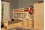 Заказать Кровать Классик верхнеярусная бесцветный лак БЕЗ посредников!