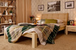 Заказать Кровать Брамминг-1 мягкая (бесцветный лак) БЕЗ посредников!