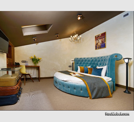 Кровать круглая на заказ