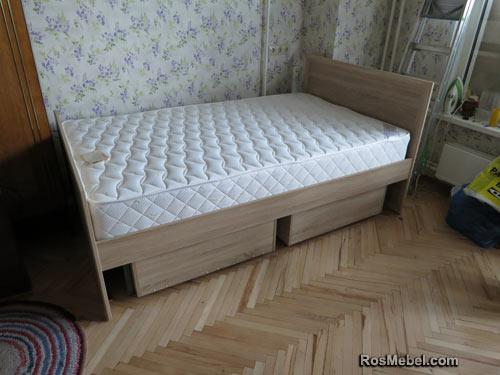 Кровати на заказ с ящиками