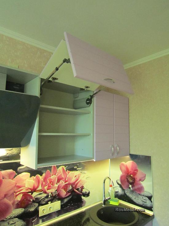 Кухня белая МДФ в ПВХ плёнке