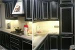 Заказать Кухня фасад МДФ в ПВХ плёнке, с косичкой, с серебряной патиной БЕЗ посредников!