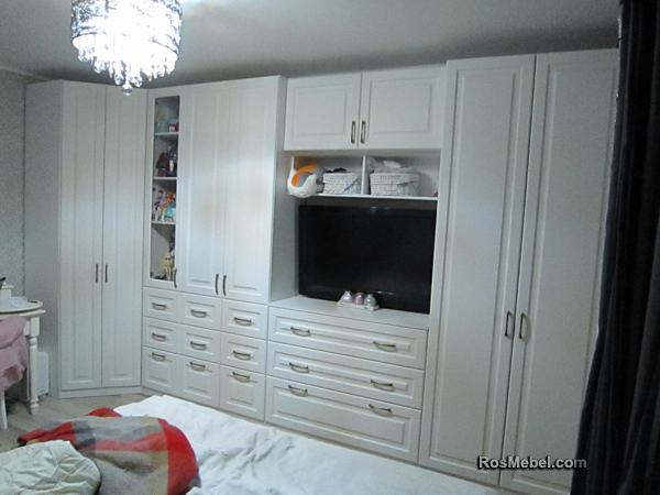 Система шкафов в комнату