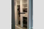 Встроенный шкаф без дна