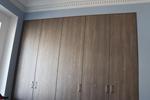 Встроенный шкаф без днища