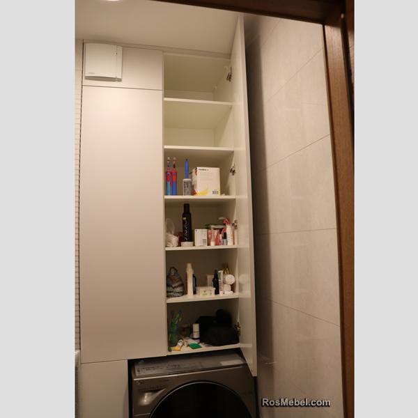 Встроенный шкаф в СУ