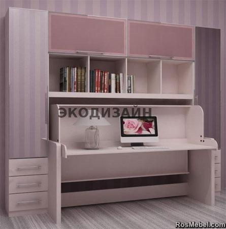 кровать - стол трансформер 05
