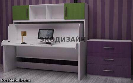 кровать - стол трансформер 06