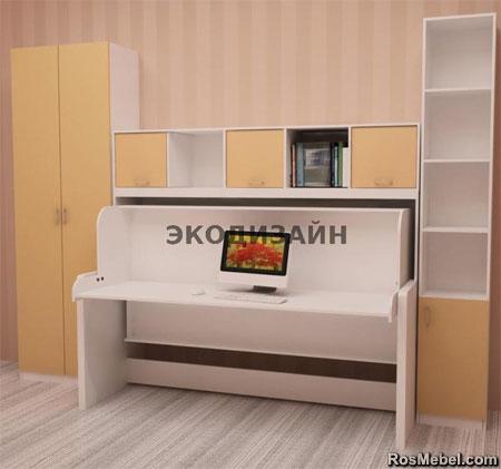 кровать - стол трансформер 03