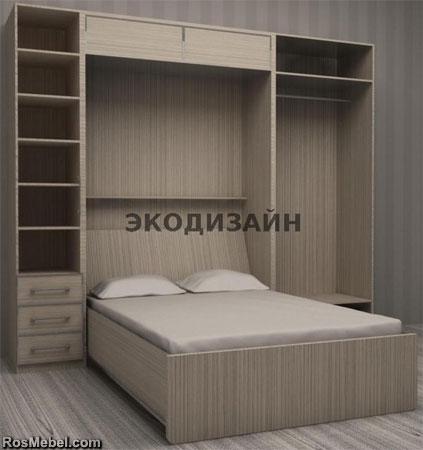 кровать - шкаф трансформер 04