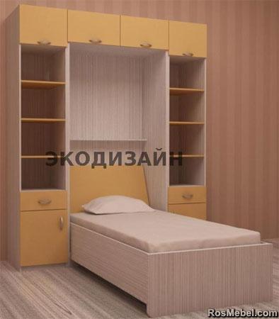 кровать - шкаф трансформер 03