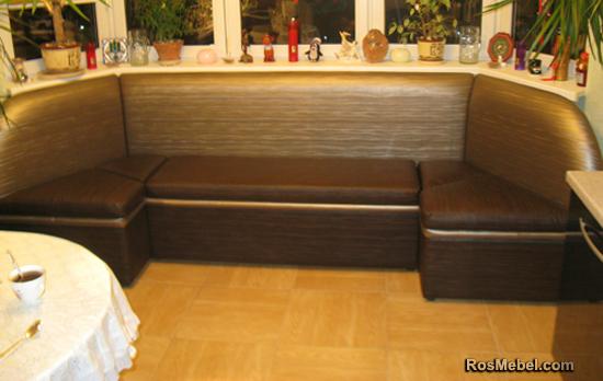Кухонный уголок эркерный