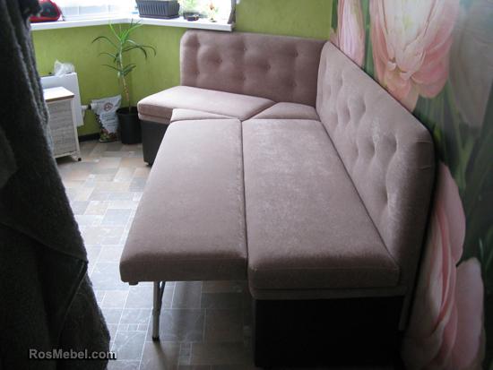 Кухонный диванчик угловой раскладной