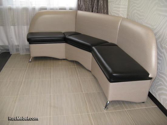 Кухонный диванчик угловой с ящиками