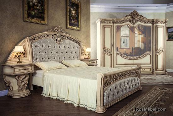 Спальня Шах крем