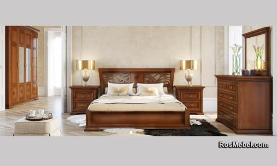 Спальня Palermo noce