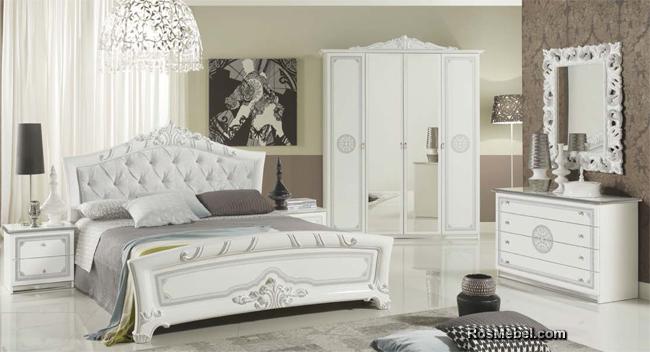 спальня Европа белое cеребро