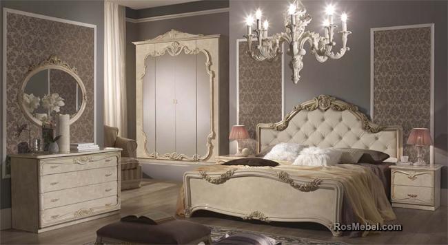 спальня Елена слоновая кость