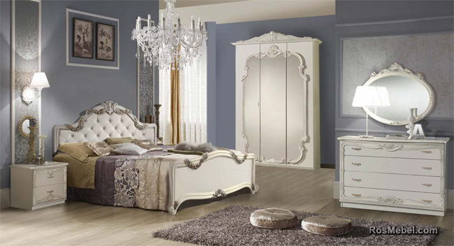 спальня Елена белая