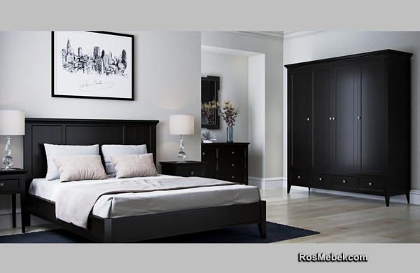 Спальня БРУКЛИН черная