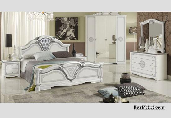 спальня Гретта Меридиан белая