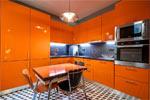 Заказать Кухня LUCIDO АКРИЛ оранжевая БЕЗ посредников!