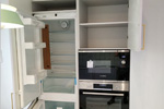 Шкаф встроенный на кухне