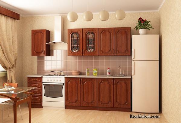 Кухня Ольха 2м МДФ