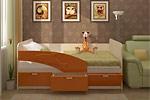 Заказать Детская Кровать Дельфин 1.6 Метра БЕЗ посредников!