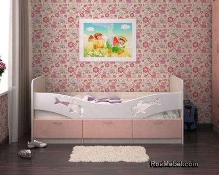 Детская Кровать Дельфин - 2 Метра