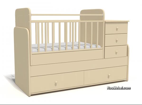 Кровать-Трансформер Bambu Allegro
