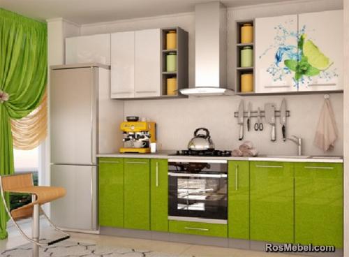 Кухня Лайм микс 2.4м