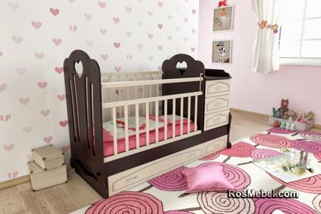 Кровать Трансформер Анечка