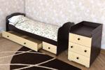 Кровать-Трансформер Мишки Под Зонтом
