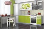 Кухня с фотопечатью 1.8 Зелёное яблоко