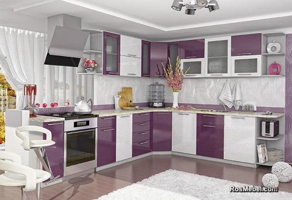 Кухня София угловая 3050х2650 Микс