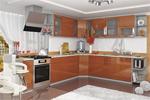 Заказать Кухня София угловая 3050х2650 Оранж БЕЗ посредников!