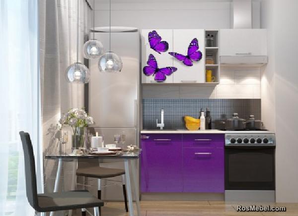 Кухня фото Бабочки 1.6м модульная