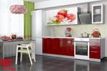 Заказать Кухня София с фотопечатью 2,0 Красные яблоки БЕЗ посредников!
